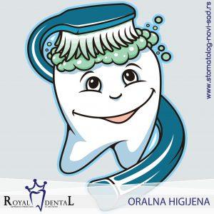 Pravilnim održavanjem oralne higijene se smanjuje mogućnost pojave bolesti zuba i desni