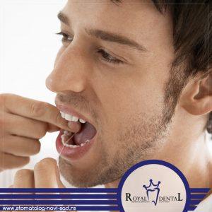 Konac za zube je jedno od najvažnijih sredstava za pravilno održavanje oralne higijene