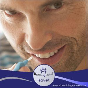Interdentalnim četkicama se postiže temeljno čišćenje međuzubnih površina, koje nisu dostupne klasičnoj četkici za zube