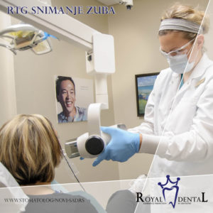 Snimanje zuba je rutinska dijagnostička procedura